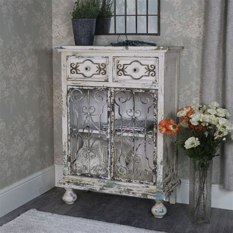 Large White Sideboard Cabinet Melody Rustic White Sideboard Storage Cabinet Melody Maison 174