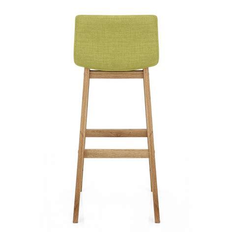 taburetes madera taburete drift con estructura en madera y asiento tapizado