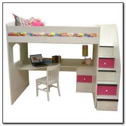 Cheap Computer Desk Really Wonderful Creative Designs Full Size Loft Bed With