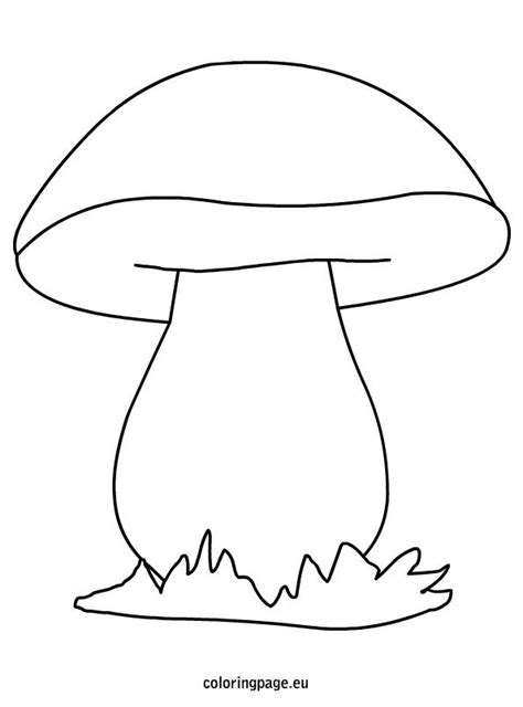 mushroom coloring picture kreat 237 v ősz pinterest