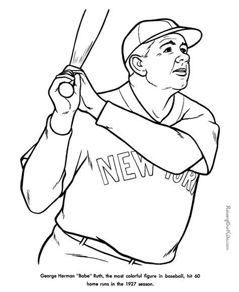 printable coloring pages baseball free printable baseball coloring sheets sandlot birthday