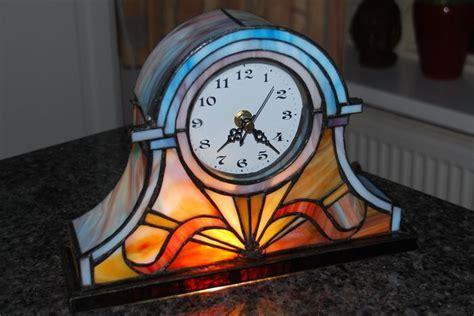 Half Glass Clock style glass clock unique 2nd half of 20th