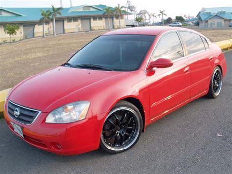 2003 nissan altima custom autoland 2003 nissan altima 2 5s custom paint rims tein