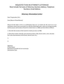 Unn Attestation Letter Format Best Photos Of Sle Business Attestation Sle Attestation Letter Beneficiary Certificate