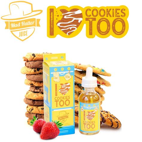 Liquid Us I Cookies 60ml 3mg i cookies mad hatter altsmo malaysia