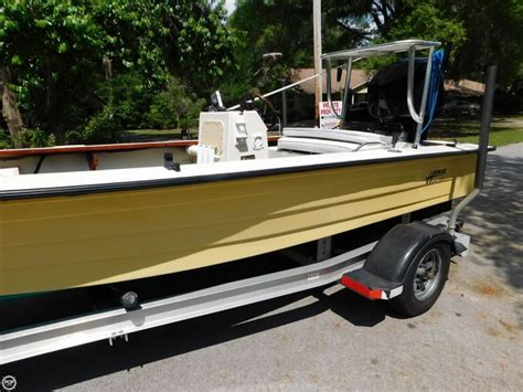 hewes flats boats 1976 used hewes 17 bonefisher flats fishing boat for sale