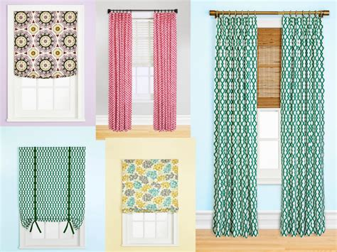 custom made window curtains 8 styles of custom window treatments hgtv