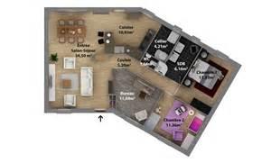 plan de moderne maison laure constructeur