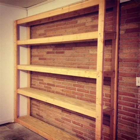 Garage Shelving Woodworking Plans 76 Best Images About Diy Garage Projects On