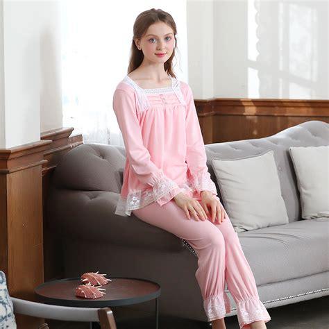 Promo One Set Lace Termurah lace vintage princess pajamas sleeve sleepwear set