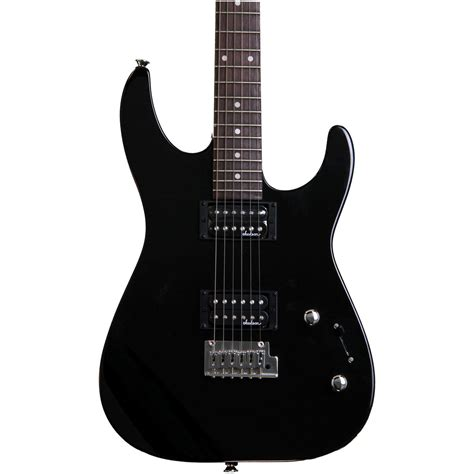 Gitar Jakson Dinky jackson js11 dinky electric guitar gloss black at gear4music
