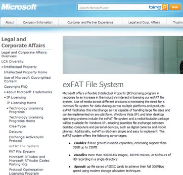 exfat format size limit add sharp to the list of microsoft exfat licensees zdnet