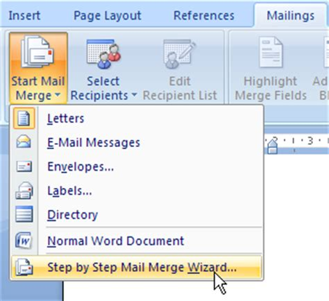 membuat mail merge word 2007 pdf sharing ilmu komputer cara membuat mail merge di word 2007