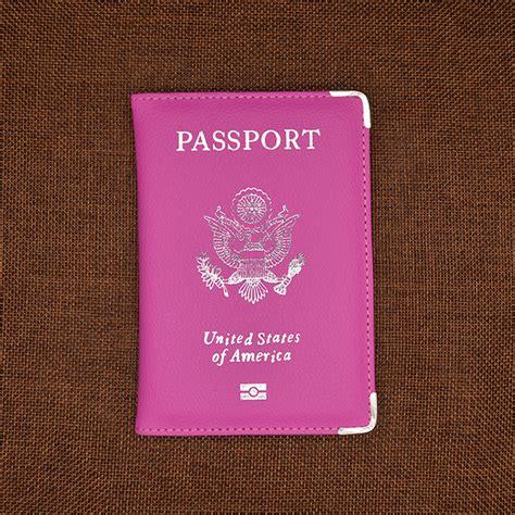 Cover Passport My Trip Banban leather passport cover w metal edge