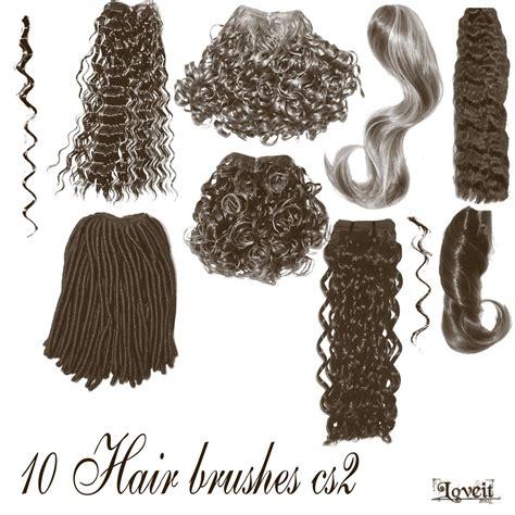 short wavy hair photoshop brushes 10 hair brushes cs2 by brushhaven1 on deviantart