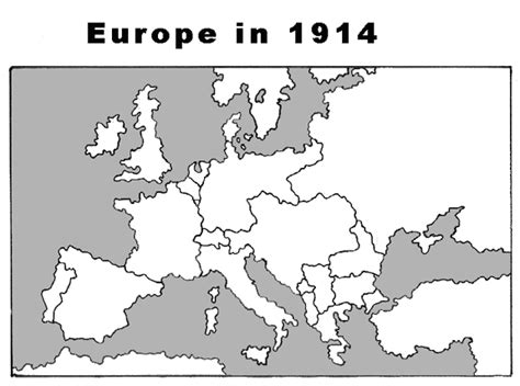 printable map europe 1914 lesson plans mapping world war i share my lesson