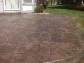 Ideas For Concrete Patios by Stamped Concrete Patios Concrete Patio Ideas For Your