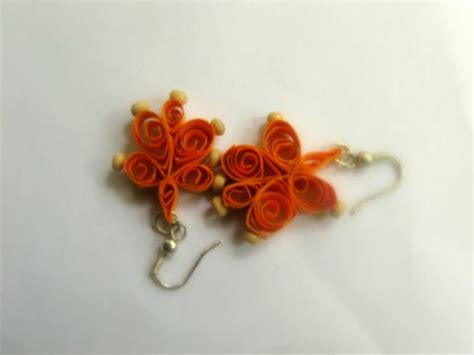 Paper Craft Earrings - flickriver 10 fingers paper jewellery india s photos