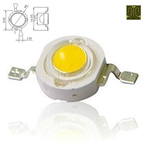 1w epistar 35mil chip high power led diode in humen dongguan exporter and manufacturer