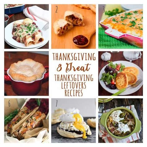 8 thanksgiving leftovers recipes