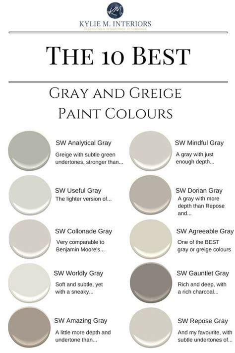 warm grey paint colors 25 best ideas about interior paint colors on
