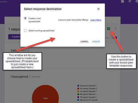 the magic automatic lesson planner with google forms