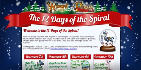 the 12 days of the spiral days 1 4 swordroll s blog