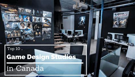 game design companies the top 10 game design studios in canada