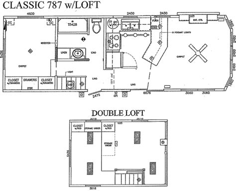 the floor plan for the evolution model home by palm harbor dutch park park models floorplans rv park models