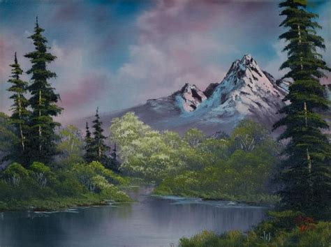 bob ross painting auction bob ross amethyst evening paintings for sale bob ross