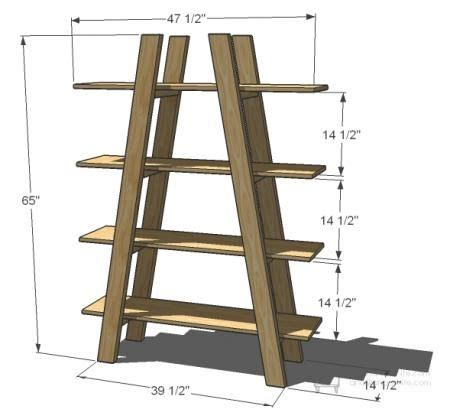best 25 ladder shelves ideas on ladder
