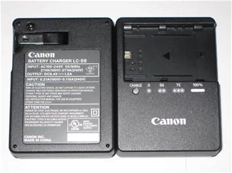 Charger Canon Lc E6 Battery Canon Lp E6 5d Iiiii 7d 60d dreea86 canon genuine battery charger lc e6 lp e6 5d mkii 7d