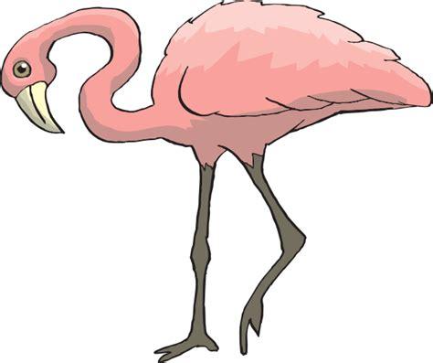 flamingo clip curious flamingo clip at clker vector clip