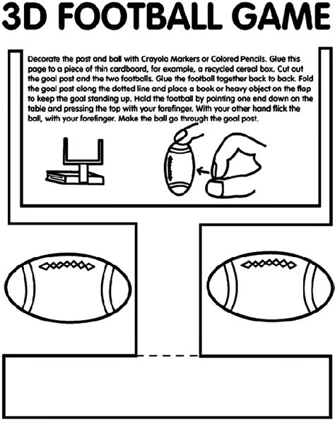 crayola coloring pages online games 3d football game coloring page crayola com