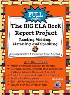 Language Arts Book Report Project by A To Guard Us A Creative Novel Study Reading Response Activities And Comprehension