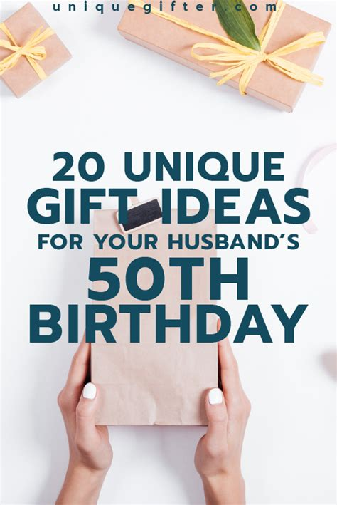unique gifts for husband gift ideas for your husband s 50th birthday he ll