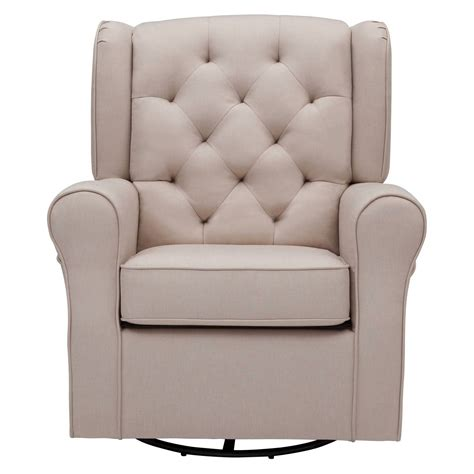 Swivel Glider Chair Nursery Delta Children Emma Nursery Glider Swivel Rocker Chair Ebay