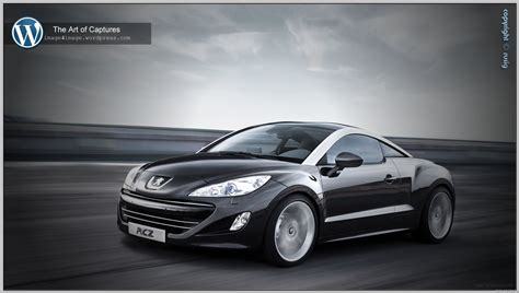 peugeot made peugeot rcz the art of captures