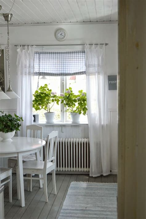 swedish farmhouse style 25 best gingham curtains ideas on pinterest