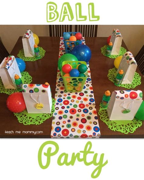 theme park for 2 year old ball themed party for a 2 year old teach me mommy