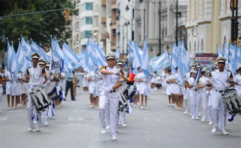 imagenes del 9 de octubre independencia de guayaquil nebot dice que fue suspendido el desfile estudiantil por