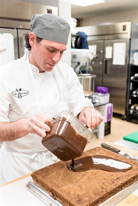 Working Conditions Of A Pastry Chef by Newtown Pastry Chef S Is In His Work Connecticut Post