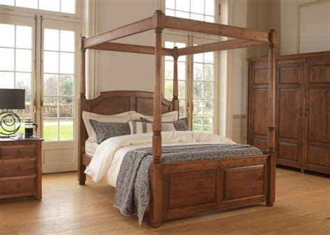 Four Poster Bed by Luxury Four Poster Bed The 4 Poster Bed