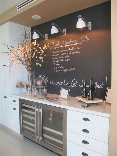 Chalkboard Kitchen Backsplash 10 Creative Kitchen Backsplash Ideas Hative