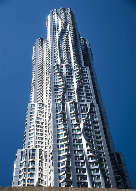 frank gehry free photo frank gehry tower manhattan free image on