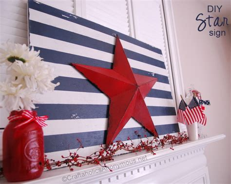patriotic decorating ideas display your stars and stripes craftaholics anonymous 174 4th of july craft tutorial