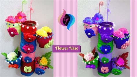 28 Easy Diy Make Empty Plastic Bottle Vase Craft Water