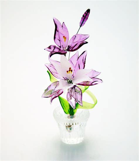 bomboniera fiore bomboniera fiore con vasetto in cristallo di cristofalo
