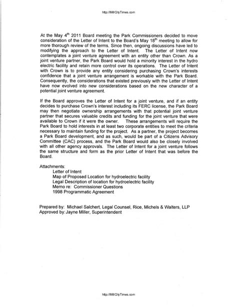 termination letter reply sle crown hydro response to ferc termination letter