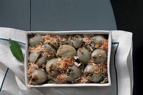 cucinare senza aglio e cipolla cipolle ripiene di carciofi